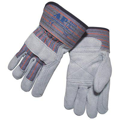 AP - 1526 Primary Color Double Leather Working Gloves