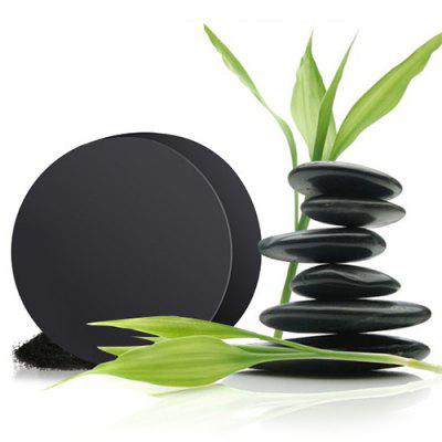 Bamboo Charcoal Control Oil Saponin Blackhead Acne Cleansing Soap