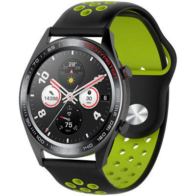 Silicone Two-color Strap for Huawei Honor Magic Watch