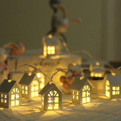 Nordic House Battery Christmas Bedroom Decoration Small String Light