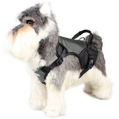 TUFFHOUND A1734 High Breathable Adjustable Reflective Pet Chest Strap