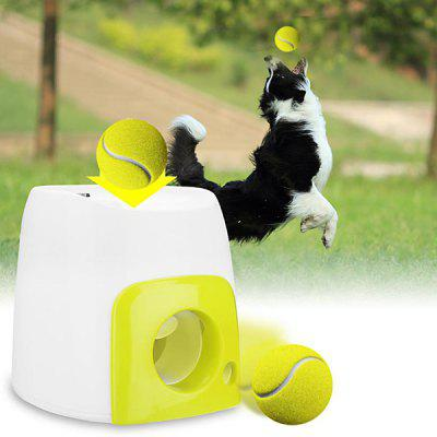 Pet Dog Launcher Tennis Ball Toy Fetch Thrower Throw Up Game Outdoor Toys