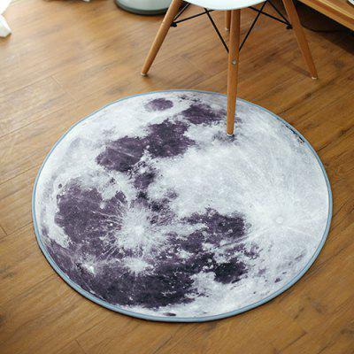 creative moon study round carpet living room coffee table mat