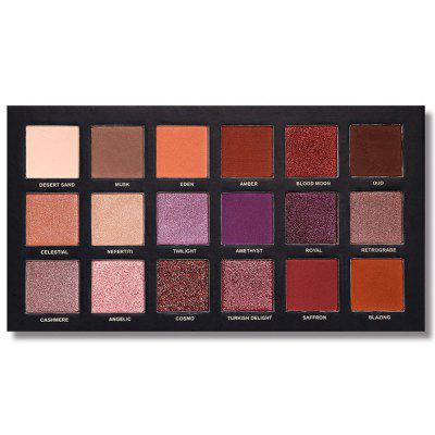 230361 18-color Rose Gold Eye Shadow Tray