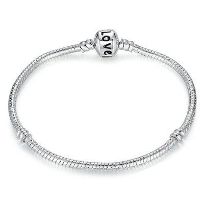 LOVE Light Chain Basic Single Bracelet
