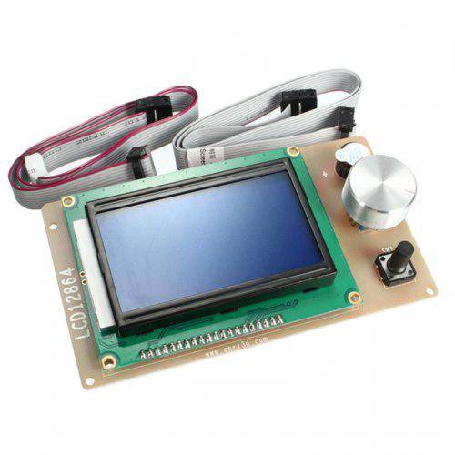 3D Printer LCD 12864 Display Monitor Motherboard RAMPS1.4 Controller Panel
