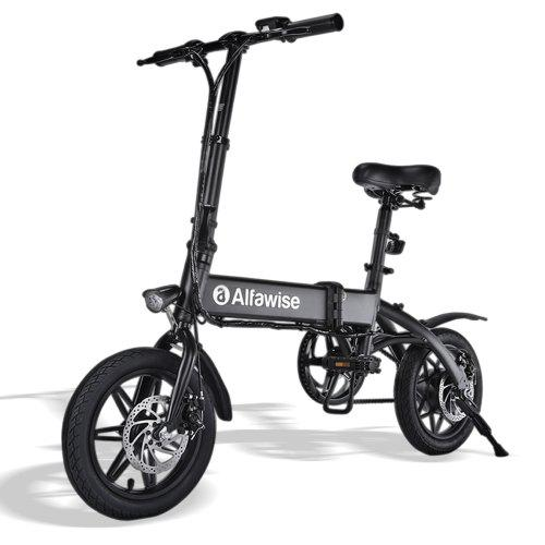 Alfawise X1 Folding E-bike Bicycle Electric Bike with 250W Motor 25km/h Speed