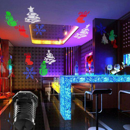 BRELONG Christmas Decoration Outdoor Waterproof 12 Kinds of Laser Snowflake  Projection Stage Lights