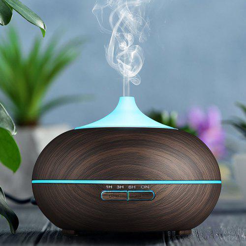 Gearbest GDAS 2509EU Aroma Diffuser 300ML Essential Oil Diffuser Electric Ultrasonic Humidifier - BLACK