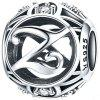 Letter Series S925 Silver Bead - SILVER