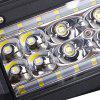 DY - 000 - 6061 5 Inch Single Unit Mixed LED Work Car Light - BLACK