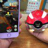 Multi-function Wizard Ball Night Light Mobile Phone Portable Power Bank - SILVER