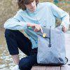 Men Outdoor Leisure Large Capacity Backpack from Xiaomi Youpin - DARK GRAY
