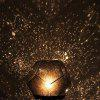 Decorative Star Projector Lamp Space Decorations Night Lights - BLACK