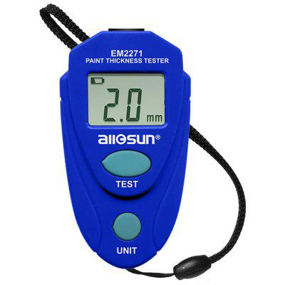 EM2271 Digital Display Magnetic Galvanized Layer Paint Film Coating Thickness Gauge