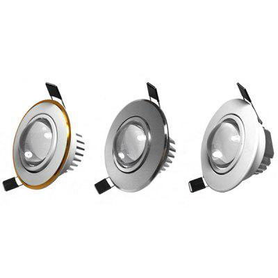 3W LED galben cu LED-uri de fundal de perete încorporat Spotlight Downlight