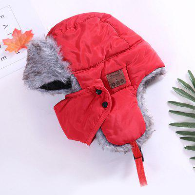 Winter Warm Bluetooth Cap Outdoor Cycling Music Hat