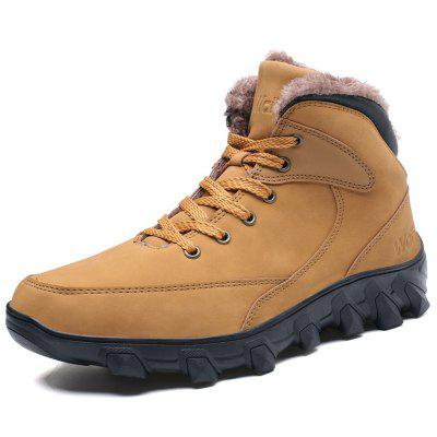male high-top outdoor cotton boots