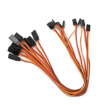 Simple Futaba Male To Female Servo Extension Cable