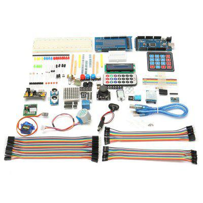 DIY Electric Unit Ultimate dla Arduino MEGA 2560 1602 LCD Servo Motor LED Relay RTC Electronic Kit