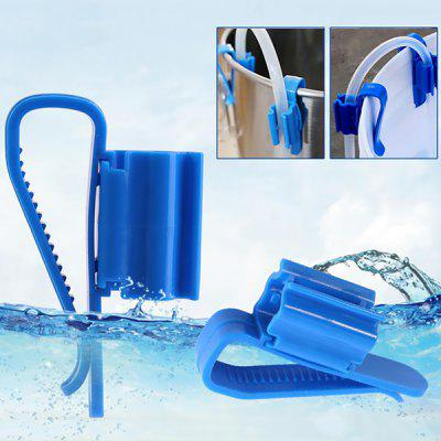 Multifunction Tube Clamp Plastic Adjustable Mounting Clip Water Pipe Hose Holder