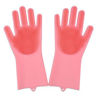 Winter Silicone Cleaning Gloves Housekeeping