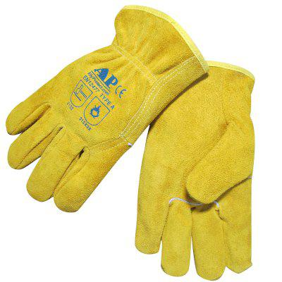 AP - 1303 Golden Yellow Mechanic Handling / Driving / Mechanical Operation Resistant Gloves without Lining Oil