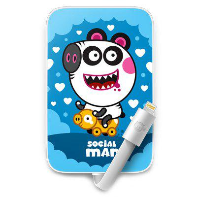 mfish Mobile Power Pig Pattern for iPhone / Android V8
