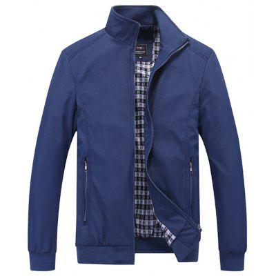 Men's Thin Sports Jacket Extra Large Size Casual Coats