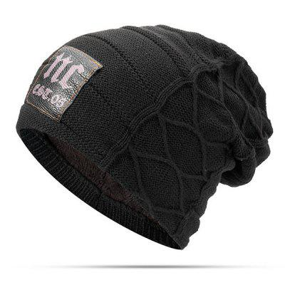 Male Autumn Winter Fashion Knit Hat
