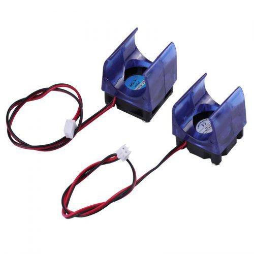 12V / 24V 3D Printer Parts Injection Molding 3010 Radiator with Cooling Fan Case 2 Pin Brushless DC Cool Fans Dupont Wire