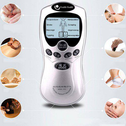 Multifunctional Digital Meridian Physiotherapy Instrument Back Neck Full Body Portable Massager