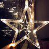 Outdoor Waterproof Curtains Ice String Light - WARM WHITE