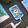 mfish Mobile Power Pig Pattern for iPhone / Android V8 - WHITE