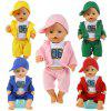 Simulation Doll Accessories No.96 Sportswear Suit - PINK