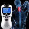 Multifunctional Digital Meridian Physiotherapy Instrument Back Neck Full Body Portable Massager - WHITE