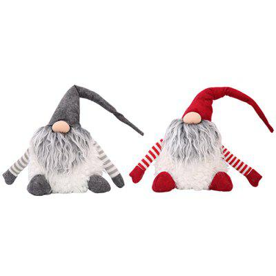 Cartoon Christmas Decoration Old Man No Face Doll Creative Child Gift