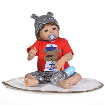 NPK Full Silicone Reborn Baby Child Toy Gift