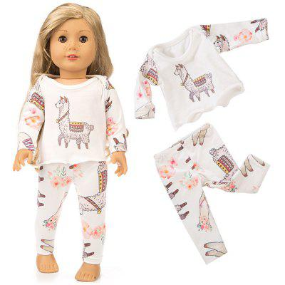 Pajamas Set for 18 inch Doll