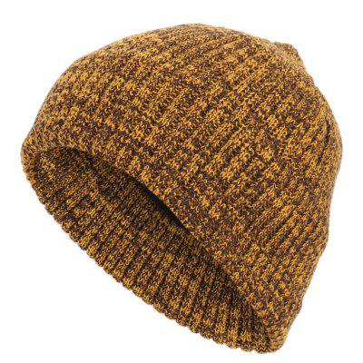 Winter Double-layer Hood Ear Knitted Caps