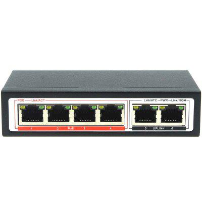 DIDSeth CF1006P - EA 4 Plus 2 Port 100M POE Network Switch