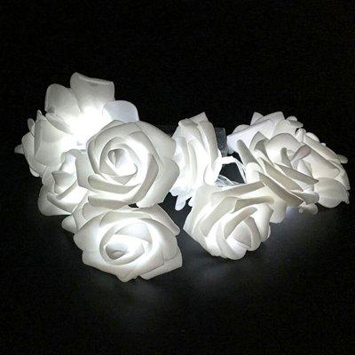BRELONG 20LED Dia dos Namorados Dia Decorativa Rose String Light
