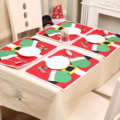 Christmas Double Gloves Styling Placemat