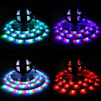 Brelong 10M 2835SMD RGB 600 LED RGB fără lumină Strip Light + Controler + Conector cablu + Adaptor 3A EU / US 100 - 240V
