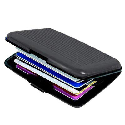 New Business Credit Card ID Wallet Mini Magnetic Waterproof