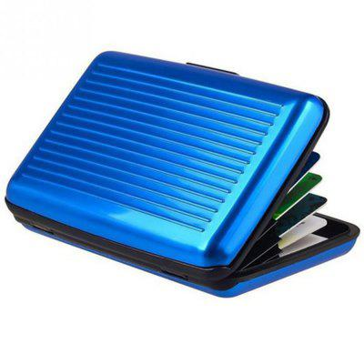 New Business Kreditkarte ID Wallet Mini Magnetic Wasserdicht