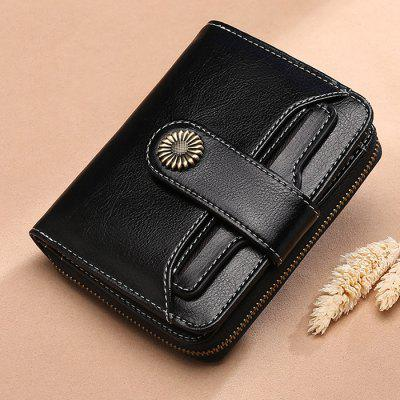 SENDEFN Women Short Multi-function Mini Money Bag Case