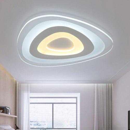 Have An Inquiring Mind Led Ceiling Light Modern Lamp Panel Living Room Round Lighting Fixture Bedroom Kitchen Hall Surface Mount Flush Remote Control Ceiling Lights & Fans