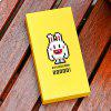 mfish 20000mAh Mobile Power Bank Naughty Rabbit for All Mobile Phone Devices - YELLOW