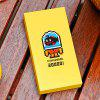 mfish 20000mAh Mobile Power Bank Small Black Fish for All Mobile Phone Devices - YELLOW